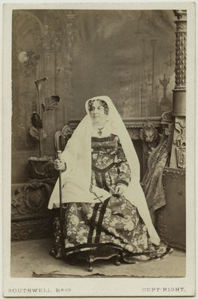 Mrs Henry Marston (Georgiana Caroline Marsh (née Noel)) as the Nurse in 'Romeo and Juliet'