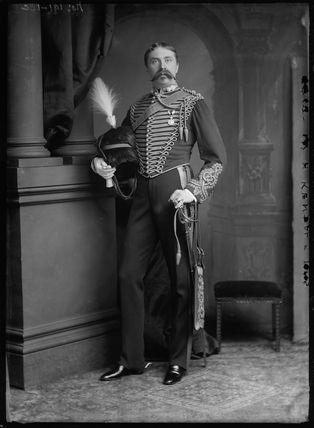 William Hunter Kendal (William Hunter Grimston) as Captain Crichton in 'Impulse'