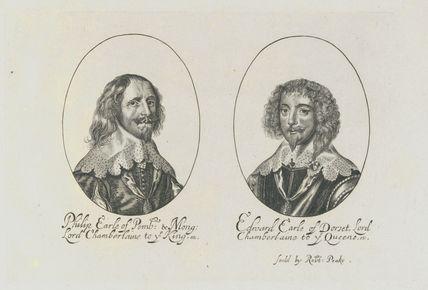 Philip Herbert, 4th Earl of Pembroke; Edward Sackville, 4th Earl of Dorset