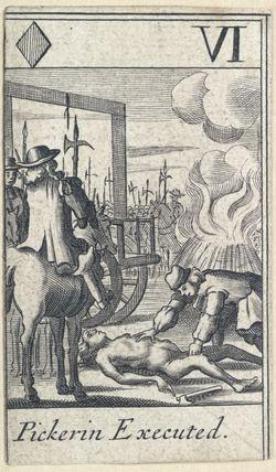 'Pickerin Executed' (Thomas Pickering)