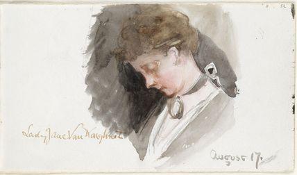 Lady Jane Charlotte Elizabeth Van Koughnet (née Alexander)