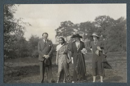 Sir Victor Martin Reeves Goodman; Philomena Thumboo Chetty; Lady Ottoline Morrell; Julian Vinogradoff (née Morrell)