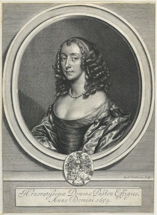 Margaret (née Hewitt, later Mrs Strode), Lady Paston