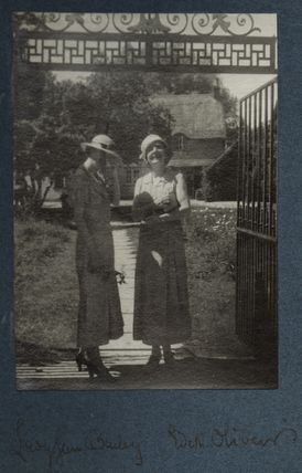 Lady Janet Lyle Bailey (née Mackay); Edith Olivier