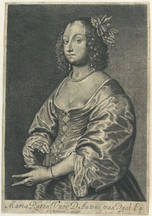 Mary (née Ruthven), Lady van Dyck