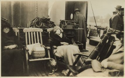 On the way to India (Lady Ottoline Morrell)