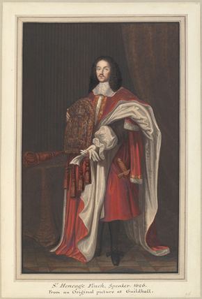 Heneage Finch, 1st Earl of Nottingham, formerly known as Sir Heneage Finch