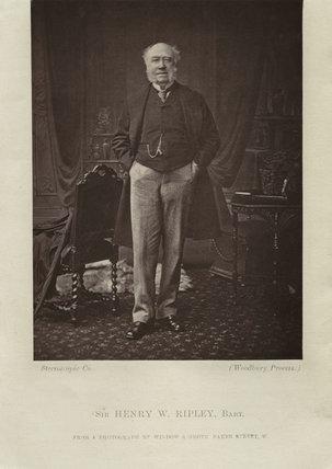 Sir Henry William Ripley, 1st Bt