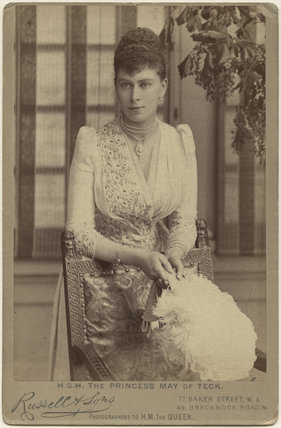 Queen Mary when Princess May of Teck