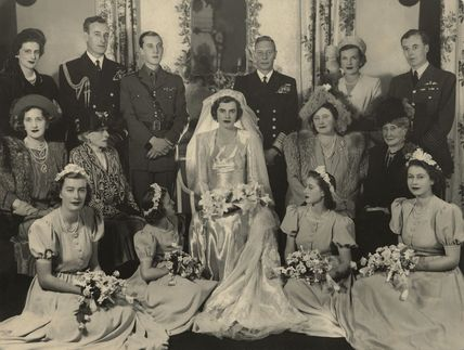 Wedding of John Ulick Knatchbull, 7th Baron Brabourne and Patricia Edwina Victoria Knatchbull