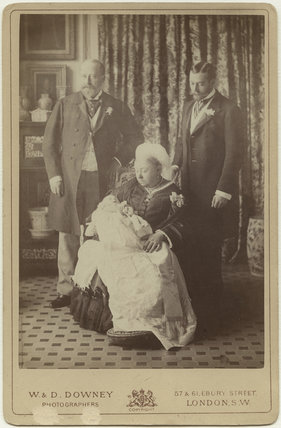 'Four Generations' (King Edward VII; Prince Edward, Duke of Windsor (King Edward VIII); Queen Victoria; King George V)