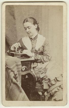 Alicia Ellen Neve Little (née Bewicke) (Mrs Archibald Little)