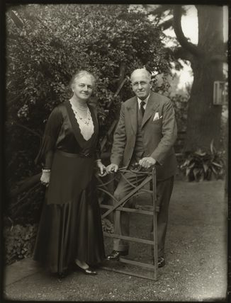 Lilian Louisa (née Ionn), Lady Collett; Sir Charles Henry Collett, 1st Bt
