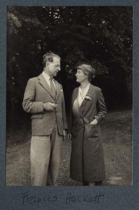 Francis Hackett; Signe Hackett (née Toksvig)