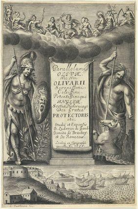 Frontispiece to 'Parallelum Olivae...'