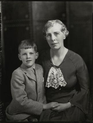 Frances Josephine Balfour (née Bingham), Lady Riverdale; Hon. Mark Robin Balfour