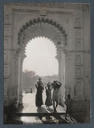 'Scenes at Udaipur'