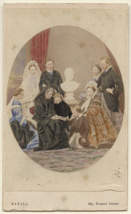 Queen Victoria with her family