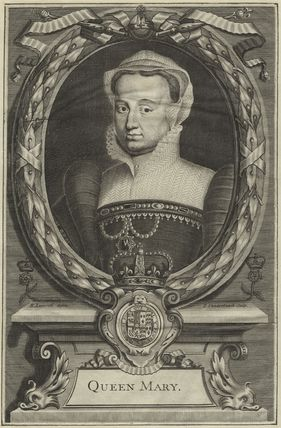 Fictitious portrait called Queen Mary I