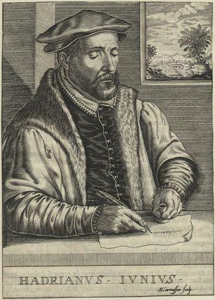 Hadrianus Junius (Adriaen de Jonghe)
