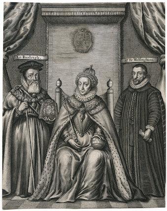 Queen Elizabeth I, William Cecil, 1st Baron Burghley, Sir Francis Walsingham