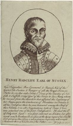 Henry Radcliffe, 2nd Earl of Sussex