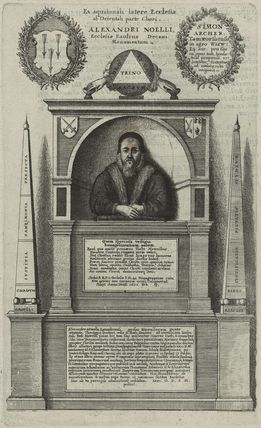 Monument to Alexander Nowell at St. Paul's Cathedral