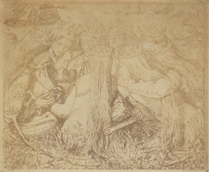 'King Arthur and the Weeping Queens'