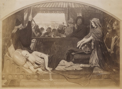 'Lear and Cordelia'