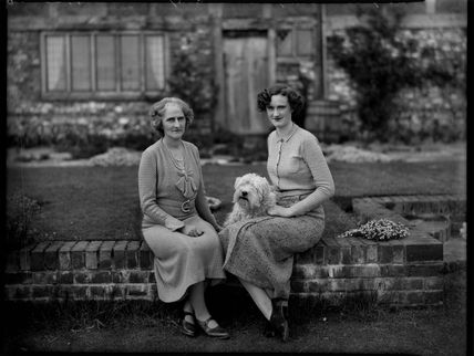 Lady Clare Mary Charlotte King (née Noel); Agnes Celestria Mary Vaughan-Lee (née King)