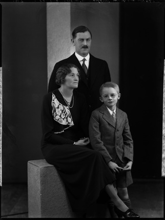 Viscount Malvern and family