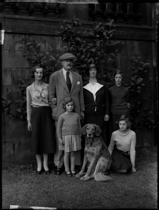Countess Wharncliffe and family
