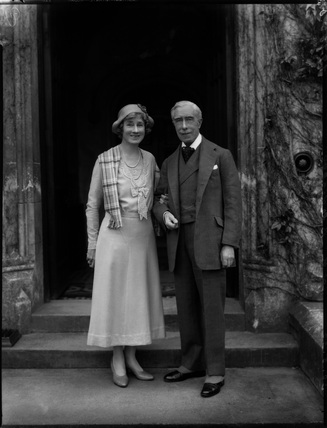 Alina Kate Elaine (née Jenkins), Viscountess Bledisloe; Charles Bathurst, 1st Viscount Bledisloe