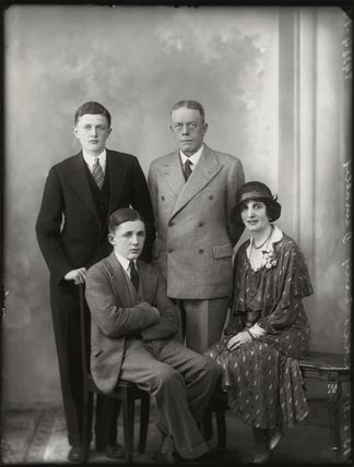 Lady Dunalley and family