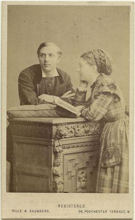 William Hunter Kendal (William Hunter Grimston); Madge Kendal