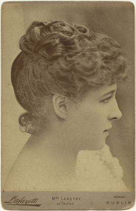 Lillie Langtry as Pauline in 'The Lady of Lyons'