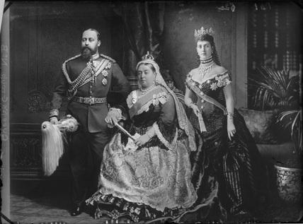 King Edward VII; Queen Victoria; Queen Alexandra