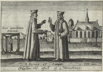 Edmund Campion and Robert Parsons