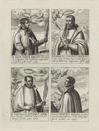 Alexander Briant, Dominic Collins, Thomas Cottam, John Cornelius