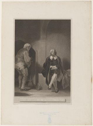 'Charles I imprisoned in Carisbrook Castle' (King Charles I)