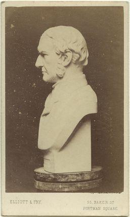 Sculptural bust of William Ewart Gladstone