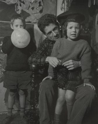Philip John Sutton with Jacob Sutton and Saskia Sutton