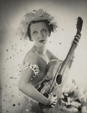 Gertrude Lawrence as the Muse of Comedy