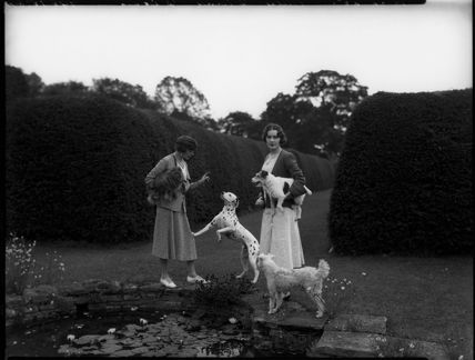 Clare Florence Mary (née Stapleton), Countess Cowley; Diana Mary (née Wellesley), Lady Glentoran
