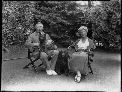 Sir Percival Scrope Marling, 3rd Bt; Beatrice Caroline (née Beaumont), Lady Marling