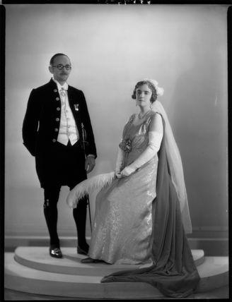 Hugh Aglionby Shore, 6th Baron Teignmouth; Anna Adelaide Caroline Shore (née Marsh), Lady Teignmouth;