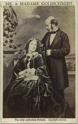 Jenny Lind; Otto Moritz David Goldschmidt