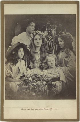 'May Day' (Kate ('Kittie') Keown; Mary Ann Hillier; Mary Ryan; William Frederick Gould and an unknown girl)