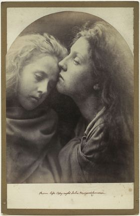 'The Kiss of Peace' (Elizabeth ('Topsy') Keown; Mary Ann Hillier)