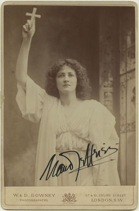Maud Jeffries as Mercia in 'The Sign of the Cross'